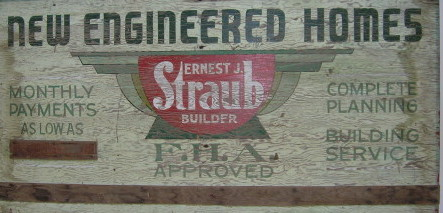 New Engineered Homes Sign