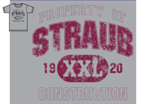 Straub Construction Corporate Challenge T-Shirt