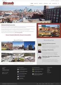 Straub's New Website