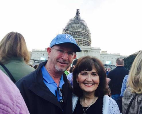 Ernie and Susan in Washington