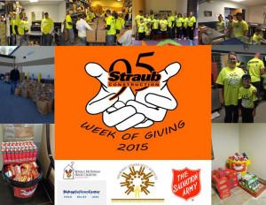 Straub Week of Giving 2015