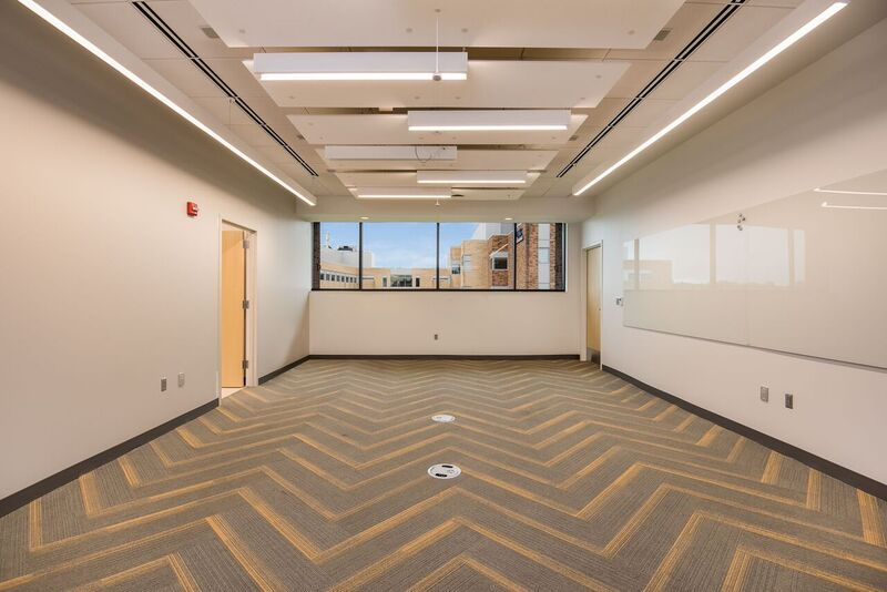 S2 project update umkc school of medicine 5th floor for Floor quadrant