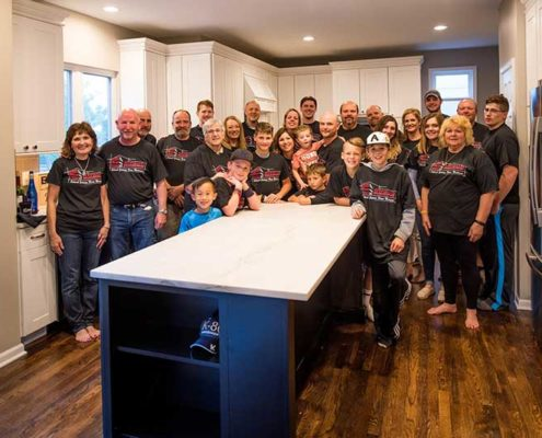 Schwab Extreme Home Makeover Crew