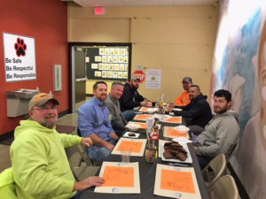 Straub Construction: SVN Charter School Lunch