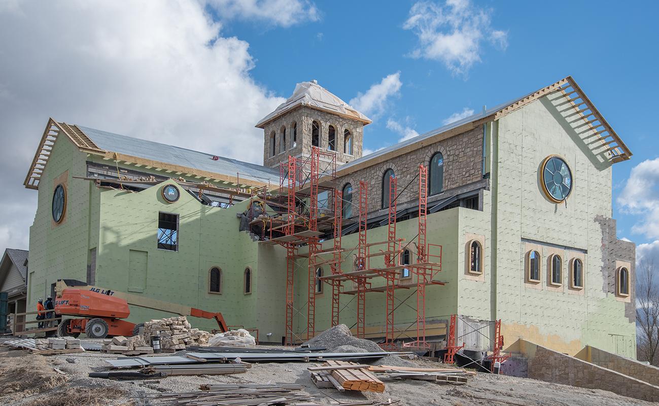 Benedictine S Of Mary Priory Church Straub Construction