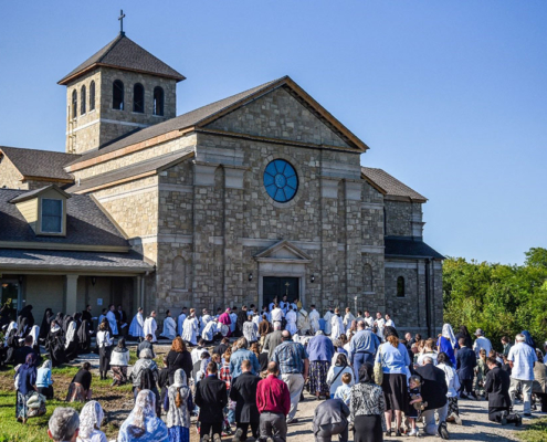 The Dedication of the Abbatial Church of Our Lady Queen of Apostles