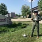 Matthew Straub in his Drone Pilot gear4