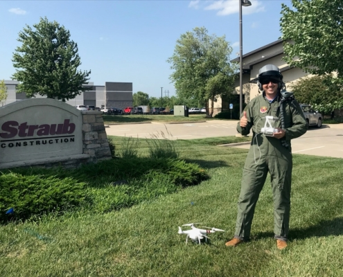 Matthew Straub in his Drone Pilot gear4